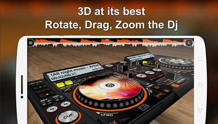 DiscDj 3D Music Player – 3D Dj Music Mixer Studio