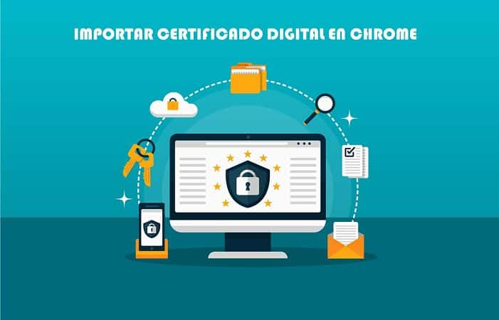 importar certificado digital en Chrome
