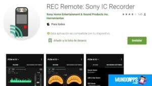 REC Remote by Sony